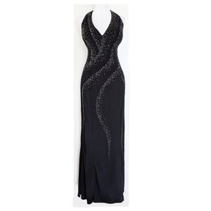 NWT Black Formal Slinky Gown Size 20